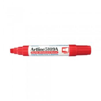 Artline 5109A Whiteboard Big Nib Marker 10mm - Red
