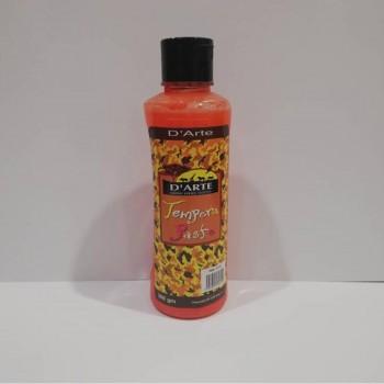 D'arte Tempera Paste Orange 300gm (115)
