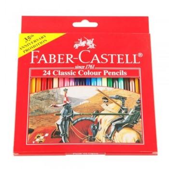 Faber Castell Classic Colouring Pencil-24L (Item No: B05-05) A1R2B192