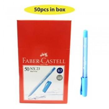 Faber Castell NX23 0.7mm Blue Ball Pen (642412) - 50pcs/box