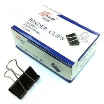 Binder Clips - 51mm, 1 dozen / box