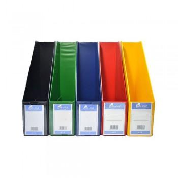 "3"" PVC Magazine Box File - Mix Solid"