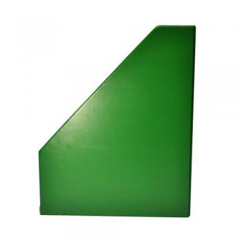 "4"" PVC Magazine Box File - Green"