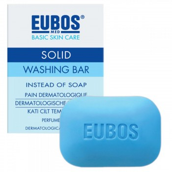 Eubos Solid Washing Bar Cleanser Blue 125g