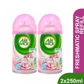 Air Wick Freshmatic Floral Bouquet Refill 250ml x2 (Value Pack)