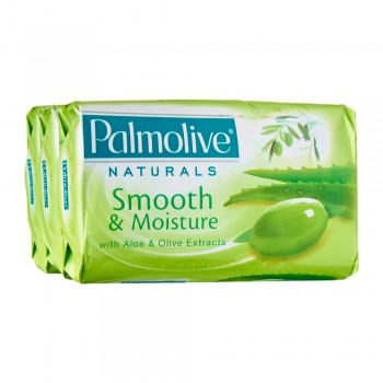 Palmolive Smooth & Moisture Bar Soap Valuepack 80g x 3