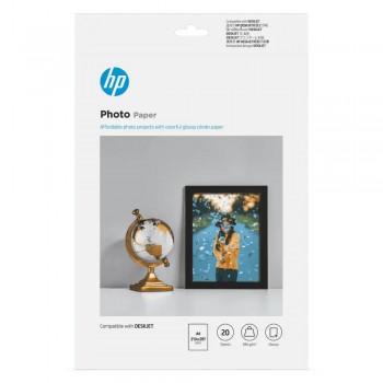 HP Glossy Photo Paper-20 sht/210 x 297 mm/A4