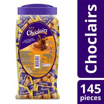 Cadbury Choclairs Caramel Jar (145pcs)
