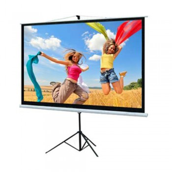 DP Screen Projector Screen - Tripod Screen - Matte White - DP-TP-08 - Screen Ratio 8' x 8' - Screen Size 2440 x 2440mm