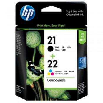 HP 21/22 Combo-pack Inkjet Print Cartridges (CC630AA)