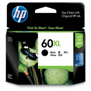 HP 60XL Black Ink Cartridge (CC641WA)
