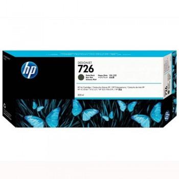 HP 726 DesignJet Ink Cartridge 300-ml - Matte Black (CH575A)