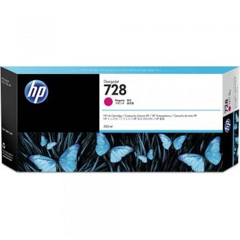 HP 728 300-ml Magenta DesignJet Ink Cartridge (F9K16A)