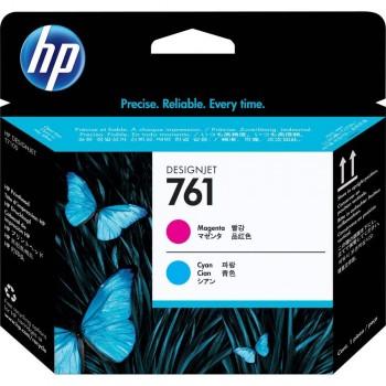 HP 761 Designjet Printhead - Magenta/Cyan (CH646A)