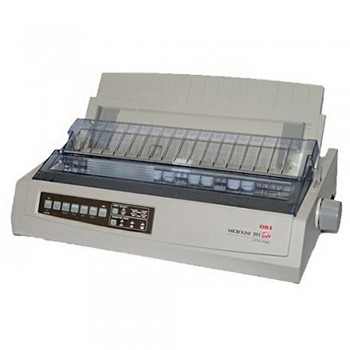 OKI ML391T Plus - A4 24-Pin printer Parallel & USB interfaces Dot Matrix PRINTER - 42089521 (Item No: OKI 391T PRT)