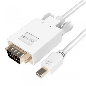 Orico MPV 1m Mini Display Port to VGA Cable - White