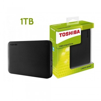 Toshiba CANVIO BASIC Portable Hard Disk - 1TB, USB 3.0