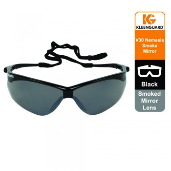 KleenGuard™ V30 Nemesis Eyewear - Smoked Mirror lens, Universal, 1x1 (1 glasses) 20380