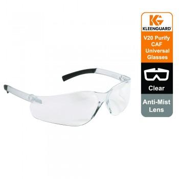 KleenGuard™ V20 Purity Anti-Mist Eyewear 25654 - Clear lens, Universal, 1x1 (1 glasses)