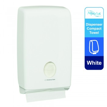 Aquarius™ Compact Hand Towel Dispenser 70240 - White