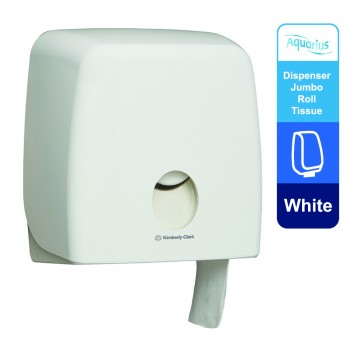 Aquarius™ Jumbo Roll Toilet Tissue Dispenser 70260 - White