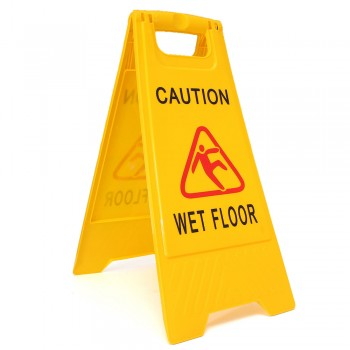 Caution Sign (Large) CAUTION WET FLOOR