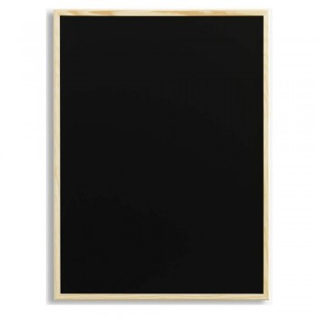 NAGA CHALK BOARD BLACK ~ Chalk Board with wooden frame. Size: 60 x 40cm (Item no:G14-20)