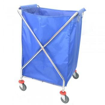 Chrome Steel X-2 Trolley-X2T-506/Chrome (Item No: G01-217)