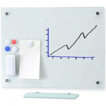 MGW1224 Magnetic Glass Board 240 x 120CM (Item No:G05-205)