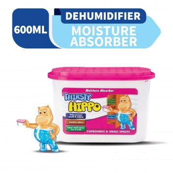 Thirsty Hippo Dehumidifier Moisture Absorber 600ML