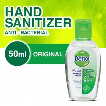 Dettol Hand Sanitizer Original 50ml