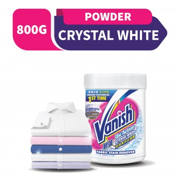 Vanish Fabric Crystal White Stain Remover Powder 800g