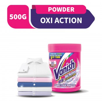 Vanish Fabric Oxi Action Stain Remover Powder 500g