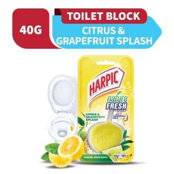Harpic Nature Fresh Citrus & Grapefruit Splash 40g