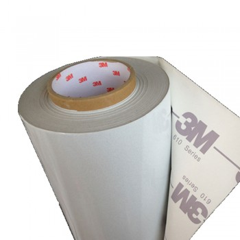 3M-610W (24inch x 50yard) Reflective Sticker (White-Printable)