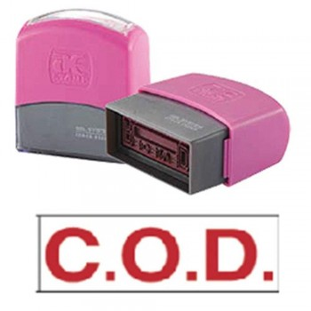 AE Flash Stamp - C.O.D. - Cash On Delivery