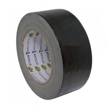 Apollo Premium Cloth Tape 24mm x 6yards Black