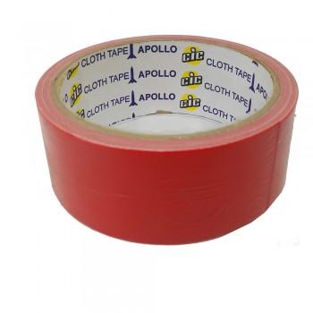 Apollo Premium Cloth Tape 24mm x 6yards Red