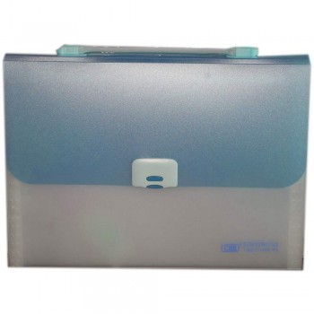 CBE 4308 13P Expanding File W/Handle (A4) Blue (Item No: B10-122 BL)