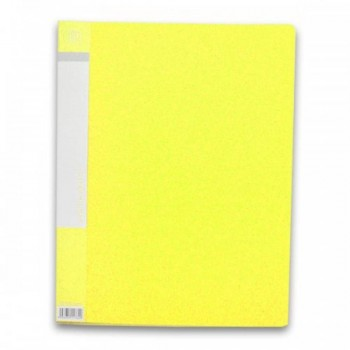 CBE 76020 Clear Holder A4 size - Yellow (Item No: B10-10 Y) A1R5B17