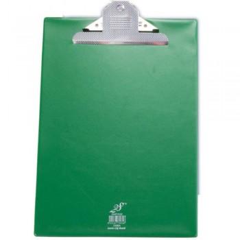 EAST FILE PVC JUMBO CLIP A4 GREEN 2496F (Item No: B11-16 GR)
