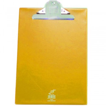 EAST FILE PVC JUMBO CLIP A4 YEL 2496F (Item No: B11-16 YL)