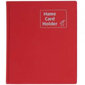 East File NH320 PVC Name Card Holder-Red (Item No: B01-46)  A1R2B18
