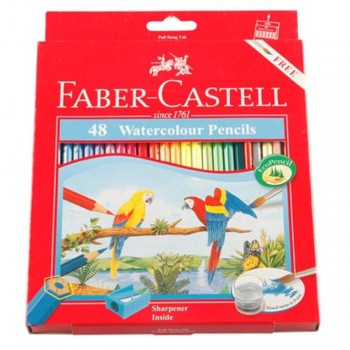 Faber Castell Watercolour Pencil 48L (Item No: B05-13) A1R2B141
