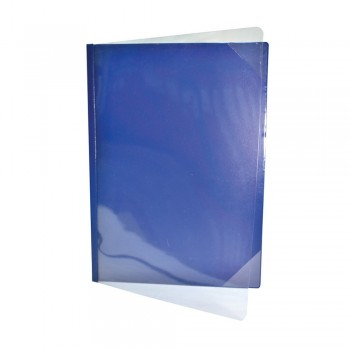 521A Certificate Holder with Transparent - Blue
