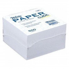 White Memo Cube (MCW 90-500)