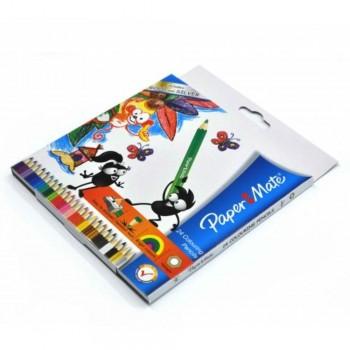Papermate Colouring Pencils - 24L (Item No: A04-26) A1R1B202