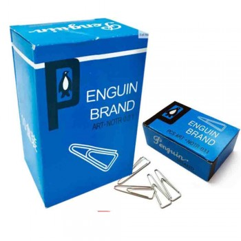 Penguin Triangle Paper Clip 31mm (10 small boxes)