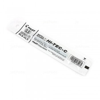 Pilot Hi-Tec-C Gel Pen Refill 0.5mm - Black