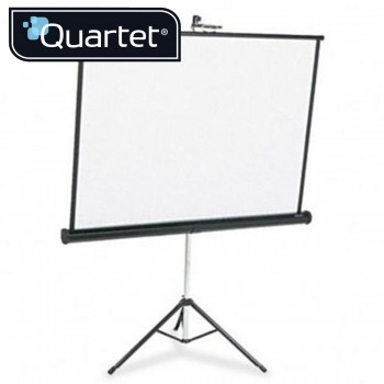 Quartet Portable Tripod Projection Screens 1750